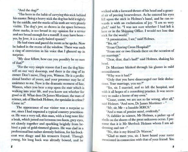 Иллюстрация 1 из 9 для The Hound of the Baskervilles - Arthur Doyle | Лабиринт - книги. Источник: Лабиринт