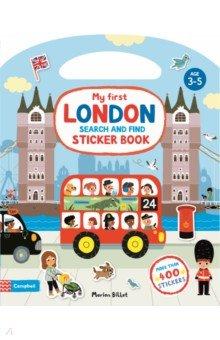 Купить My First Search and Find London Sticker Book, Mac Children Books, Книги для детского досуга на английском языке