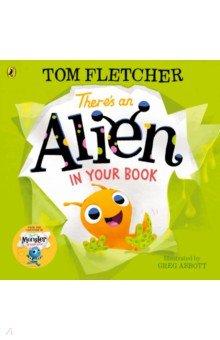 Купить There's an Alien in Your Book, Puffin, Первые книги малыша на английском языке