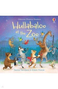 Купить Hullabaloo at the Zoo, Usborne, Первые книги малыша на английском языке