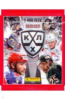 Наклейки КХЛ 2020-21 (5 наклеек) (8018190014525)