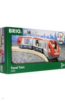 Купить BRIO Пассажирский поезд-экспресс 5 элемент., 33505, Железные дороги