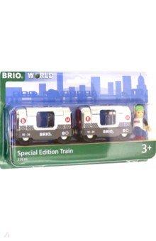 Купить Brio Поезд метро Металлик из 2ваг., 33838, Железные дороги