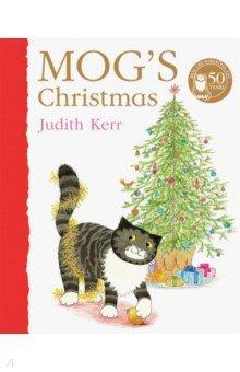 Купить Mog's Christmas, Harper Collins UK, Первые книги малыша на английском языке
