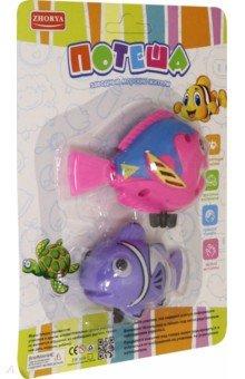Купить Игрушка для ванной заводная Рыбки 2 штуки (ZY883006), Junfa, Игрушки для ванной