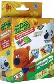 Купить МиМиМишки. Настольная игра МиМиБум (05798), Оригами, Карточные игры для детей