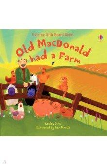 Купить Old MacDonald had a farm, Usborne, Первые книги малыша на английском языке