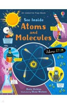 Купить See Inside Atoms and Molecules, Usborne, Первые книги малыша на английском языке