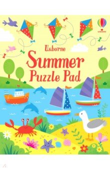 Купить Summer Puzzle Pad, Usborne, Книги для детского досуга на английском языке
