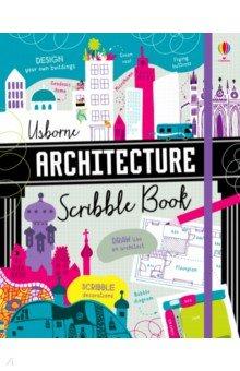 Купить Architecture Scribble Book, Usborne, Книги для детского досуга на английском языке