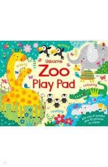 Купить Zoo Play Pad, Usborne, Первые книги малыша на английском языке