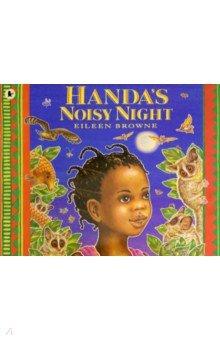 Купить Handa's Noisy Night, Walker Books, Первые книги малыша на английском языке