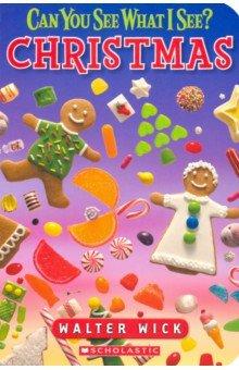 Купить Can You See What I See? Christmas, Scholastic Inc., Первые книги малыша на английском языке