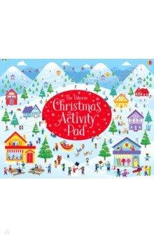 Купить Christmas Activity Pad, Usborne, Книги для детского досуга на английском языке