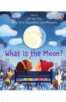 Купить What is the Moon?, Usborne, Первые книги малыша на английском языке