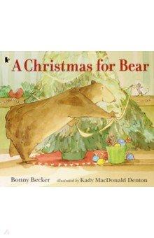 Купить A Christmas for Bear, Walker Books, Первые книги малыша на английском языке