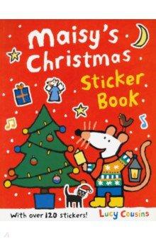 Купить Maisy's Christmas Sticker Book, Walker Books, Книги для детского досуга на английском языке