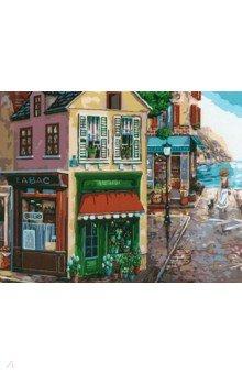 Купить Рисование по номерам Цветочная лавка , 40х50 см (C026), Русская живопись, Создаем и раскрашиваем картину