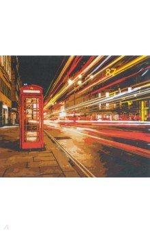 Купить Рисование по номерам Ночной Лондон , 40х50 см. (D003), Русская живопись, Создаем и раскрашиваем картину