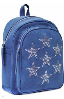 Купить Рюкзак 35х26х16 см, 1 отделение, синий (48371), Феникс+, Рюкзаки школьные