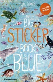 Купить Big Sticker Book of Blue, Thames&Hudson, Книги для детского досуга на английском языке