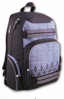 Купить Рюкзак 50х33х15 см, черный Орнамент (41017), Феникс+, Рюкзаки школьные