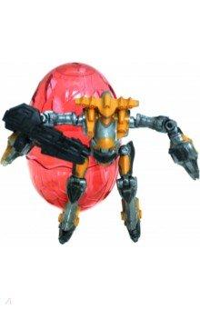 Купить Боевой робот Mechanic в яйце, красный (79719), KriBly Boo, Роботы и трансформеры