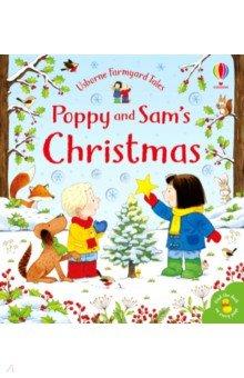 Купить Poppy and Sam's Christmas, Usborne, Первые книги малыша на английском языке