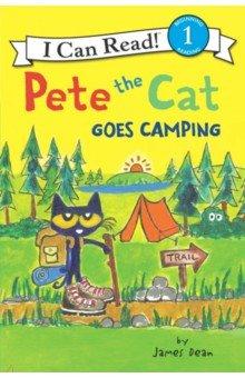 Купить Pete the Cat Goes Camping (Level 1), Harper Collins USA, Художественная литература для детей на англ.яз.