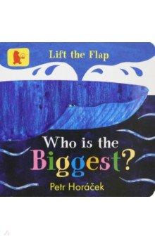 Купить Who Is the Biggest?, Walker Books, Первые книги малыша на английском языке