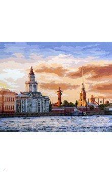Купить Картина по номерам САНКТ-ПЕТЕРБУРГ 40х50 см (M-1879), MAZARI, Создаем и раскрашиваем картину