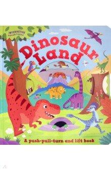 Купить Dinosaur Land, Igloo Books, Первые книги малыша на английском языке