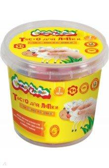 "Тесто для лепки ""Каляка-Маляка"", в банке, 7 цветов, 210 г, 2 формочки (ТЛБКМ-07/30)"