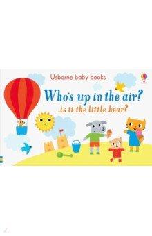 Купить Who's up in the Air?, Usborne, Первые книги малыша на английском языке