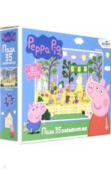Купить Свинка Пеппа. Пазл-35 гигантский Летние игры (05844), Оригами, Пазлы (12-50 элементов)