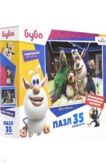 Купить Буба. Пазл-35 гигантский Вечеринка (06044), Оригами, Пазлы (12-50 элементов)