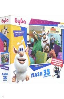 Купить Буба. Пазл-35 гигантский День подарков (06045), Оригами, Пазлы (12-50 элементов)