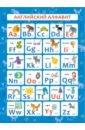 Фото - Обучающий плакат Английский алфавит (57814001) магнитные карточки плакат алфавит