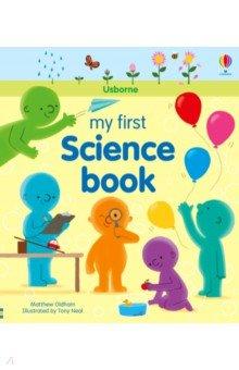 Купить My First Science Book, Usborne, Художественная литература для детей на англ.яз.