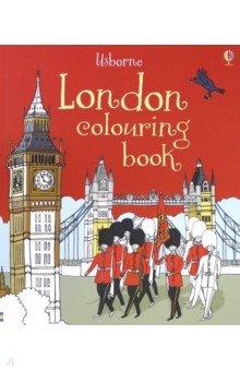 Купить London Colouring Book, Usborne, Книги для детского досуга на английском языке