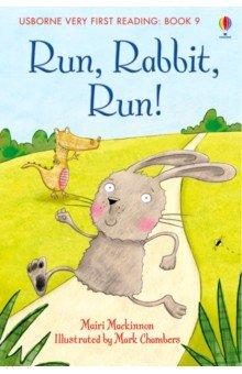 Купить Run, Rabbit, Run!, Usborne, Первые книги малыша на английском языке