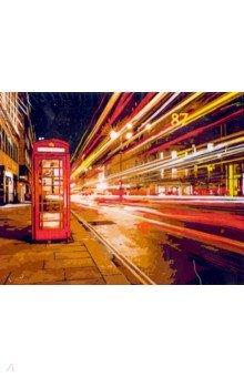 Рисование по дереву 40*50 Ночной Лондон (FLA018), Русская живопись, Создаем и раскрашиваем картину  - купить со скидкой