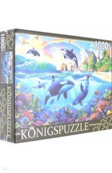 Купить Puzzle-1000 КОСАТКИ НА ЗАКАТЕ (ФK1000-7042), Рыжий Кот, Пазлы (1000 элементов)