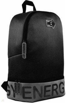 Купить Рюкзак полиэстер 31х43х16 см, 1 отделение, черный (53680), Феникс+, Рюкзаки школьные