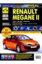 Обложка Renault Megane II с 2003-2008гг. ч/б.