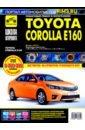 Обложка Toyota Corolla E160 с 2013г. ч/б.