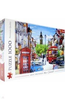 Купить Puzzle-1000. Улица Лондона (10557), Trefl, Пазлы (1000 элементов)
