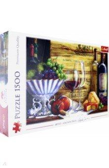 Купить Puzzle-1500. Натюрморт с виноградом (26174), Trefl, Пазлы (1500 элементов)