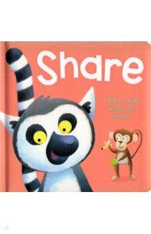 Купить Share, Igloo Books, Первые книги малыша на английском языке