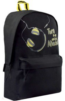 Купить Рюкзак Наушники , одно отделение, 28, 5х43х11 см. (53678), Феникс+, Рюкзаки школьные